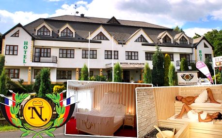 3denní pobyt pro dva v přepychovém wellness hotelu Bonaparte