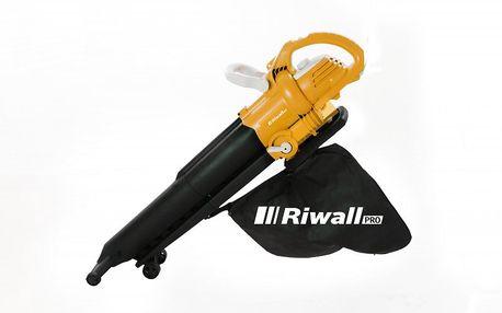Vysavač/foukač sextra silným elektrickým motorem RIWALL REBV 3000