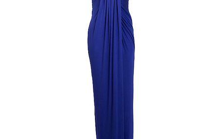 Dámské kobaltově modré plesové šaty CeMe London