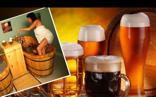 PIVNÍ relaxační pobyt pro 2 osoby na 3 dny s platností poukazu do června 2014: Útulné ubytování, pivní koupel i konzumace piva během procedury zdarma, relaxační zábal, snídaně. Užijte si ve dvou absolutní oddych!