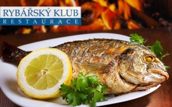 Pro milovníky ryb - restaurace RYBÁŘSKÝ KLUB na Kampě! Speciality z nejčerstvějších mořských i sladkovodních ryb, žabí stehýnka, kachna, steaky, saláty a dezerty! Restaurace v samém centru P-1!