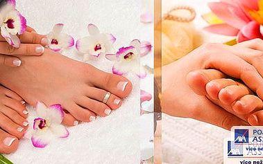 Voňavá wellness pedikúra + masáž plosek nohou v pohodlí a relaxaci! Vůně vanilkového peelingu, čokoládového, vanilkového nebo kokosového oleje v Relax clubu u metra Hradčanská !