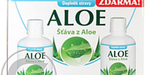 Pharma Activ Aloe - šťáva z aloe 1000 ml 1+1 zdarma - 99,7% čisté šťávy