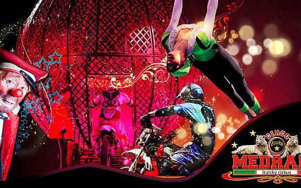 Show italského cirkusu Medrano ve středu 25.9.2013