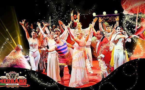 Show italského cirkusu Medrano v úterý 24.9.2013