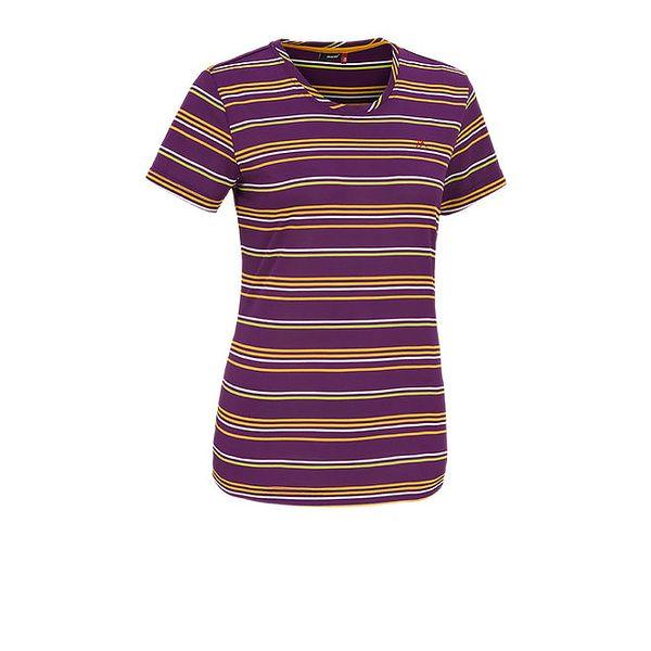 Dámské fialové funkční tričko Maier
