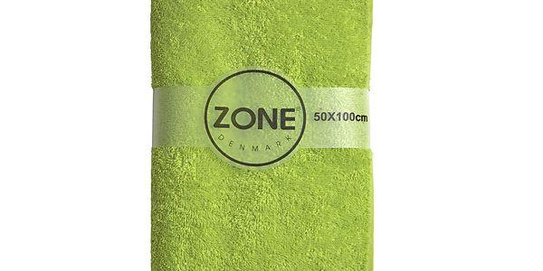 Osuška Lime Organic, 100x50 cm