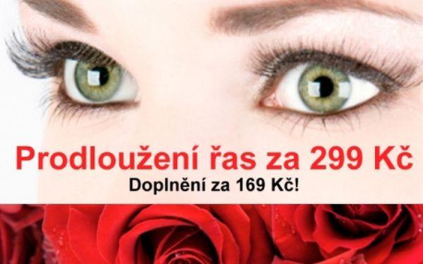 """PRODLOUŽENÍ ŘAS metodou """"řasa na řasu""""!!. Dokonalé řasy každý den ze salonu Beauty-Zone HANNNAH!!."""