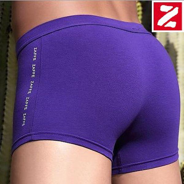 2× kvalitní, trendové jednobarevné boxerky Zaffe ZM-005-B včetně poštovného