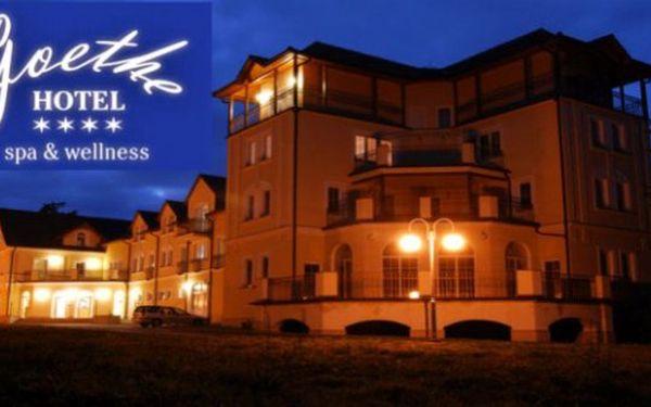Wellness pobyt u Mariánských Lázní - hotel Goethe pro 2 vč. víkendů!