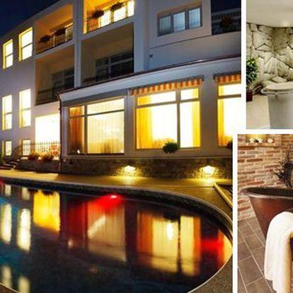 LÁZNĚ LUHAČOVICE - pobyt v moderním lázeňském & wellness hotelu Niva pro 2 osoby na 3 dny s bohatou polopenzí a s volným vstupem do vnitřního bazénu se slanou vodou! Slatinný zábal, vstup do luxusního wellness centra - finská, lesní, bylinková sauna a další!