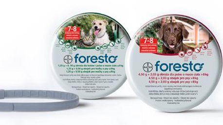 Bayer Foresto antiparazitní obojek vel. 70 určen pro velká plemena psů