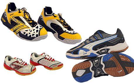 VÝPRODEJ SÁLOVÉ OBUVI značek PUMA, HI - TEC a OLIVER! Všechny boty za luxusních 699 Kč! Ideální na squash, badminton, florbal, basketbal