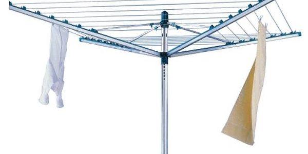 Venkovní sušák na prádlo Linomatic L 400 85215 se systémem zatahování šňůr od LEIFHEIT