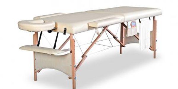 Ještě více zlevněno!! Třísegmentový masážní stůl s příslušenstvím a taškou jen za 2999 Kč!
