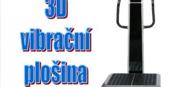 30 minut na 3D vibrační plošině - vyzkoušejte a zjistíte, že posilovna již není IN.