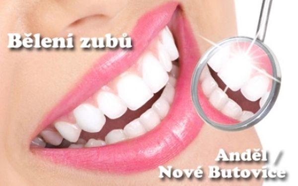 BĚLENÍ ZUBŮ BEZ PEROXIDU za fantasticky nízkou cenu! Studio na Andělu nebo v OC Galerie Butovice! Profesionální, bezpečné a efektivní bělení zubů! Krásný zářivý úsměv bez námahy...