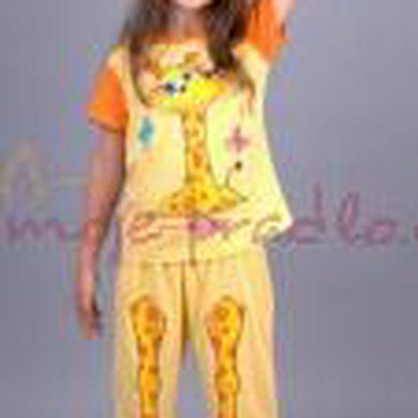 Dětské pyžamo Vienetta Secret (kapri) - Velká žirafa