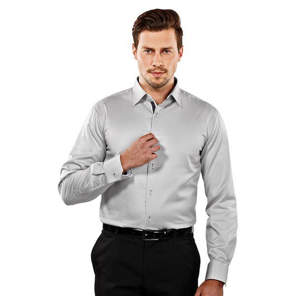 Pánská košile Vincenzo Boretti světle šedá