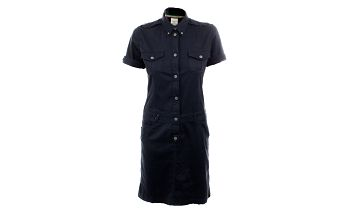 Dámské tmavomodré košilové šaty Aeronautica Militare