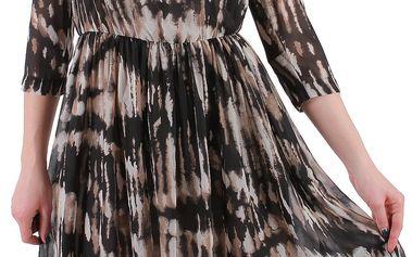 Trendy vrstvené dámské šaty od značky Sisley
