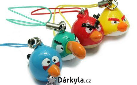 Angry Birds přívěšky - ozdoba vašeho telefonu