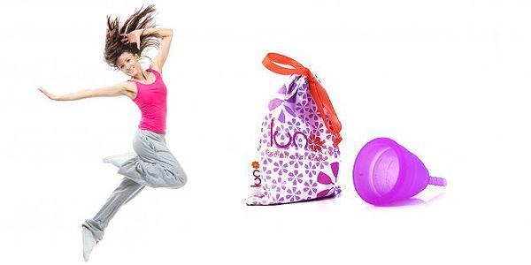 Menstruační kalíšek violet