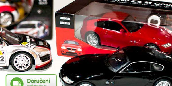 RC modely aut – licencované BMW nebo Audi