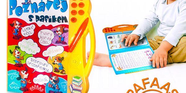 Elektronická kniha pro děti Poznávej s Pafíkem