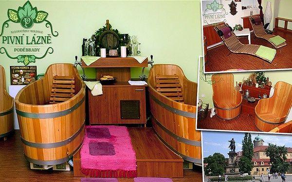 3denní relaxace pro 2 osoby v pivních lázních Poděbrady s ubytováním v hotelu Soudek