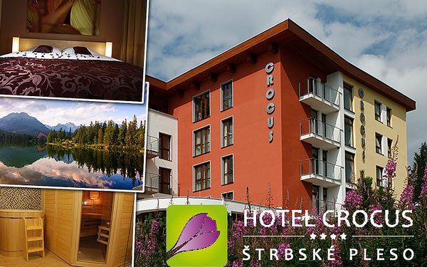 3denní dovolená v hotelu Crocus**** se snídaněmi pro dva