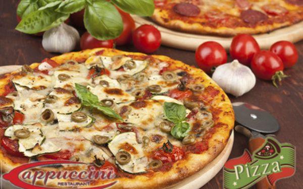 2 pizzy velikosti 32 cm jen za 78 Kč!