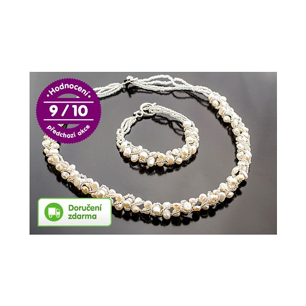Šperky z říčních perel – doručení zdarma