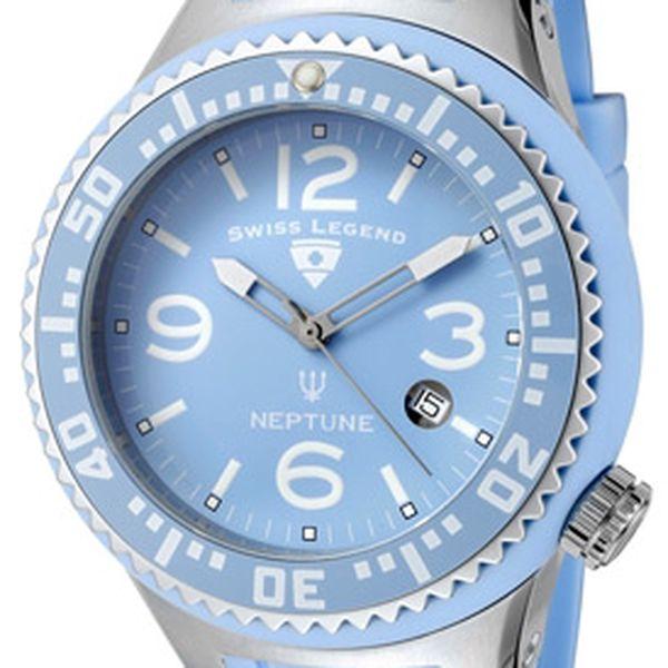 Pánské hodinky Swiss Legend Neptune Light Blue Dial