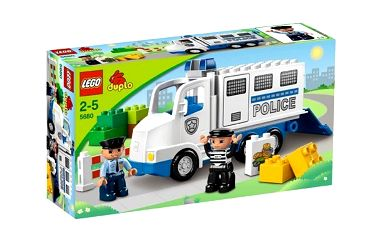Lego Duplo 5680 Policejní dodávka