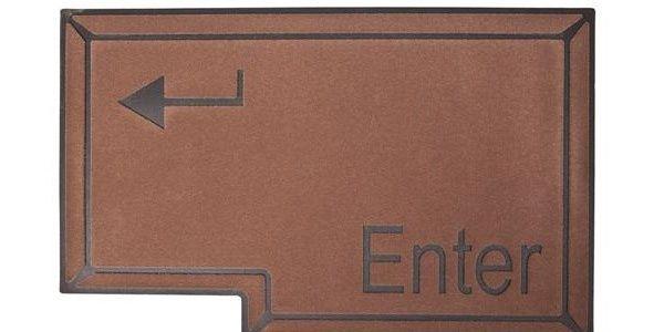 Enter, předložka před dveře