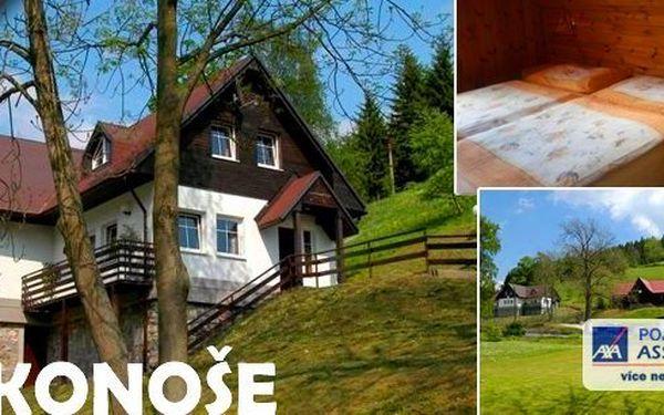 3 denní pobyt pro 2 osoby s polopenzí v apartmánovém penzionu Sedmikáska v malebné přírodě východních Krkonoš. Děti do 3 let a domácí mazlíčci zdarma!
