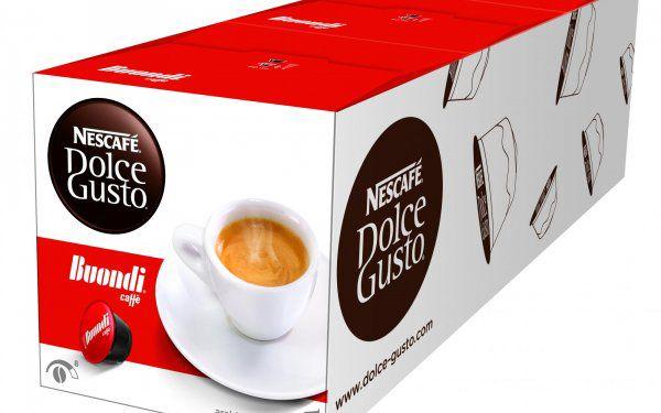 3balení kapslí Nescafé Dolce Gusto Espresso Buondi