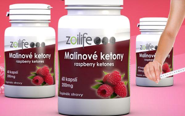 Novinka ve světě hubnutí: Raspberry Ketone (malinové ketony, přírodní produkt)