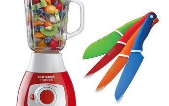 Stolní mixér TOMATO SM-3340 pro připravu koktejlů, ovocných pyré, sorbetů, polévek nebo drcení ledu.