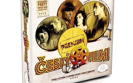 Albi Český film Premium. Skvělé propojení zábavné vzdělávací hry a párty hry.
