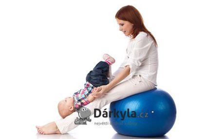 Gymnastický masážní míč 55 cm