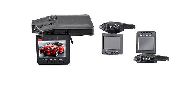 HD kamera CARCAM do auta s nočným videním, senzor pohybu, funkciou automatického nahrávania a fotoaparátu vrátane mikrofónu!