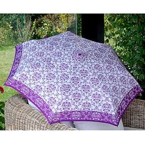 Dámský deštník se vzorem Alvarez Romanelli fialový
