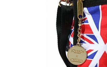 Taška na víkend s vlajkou + kosmetická taštička