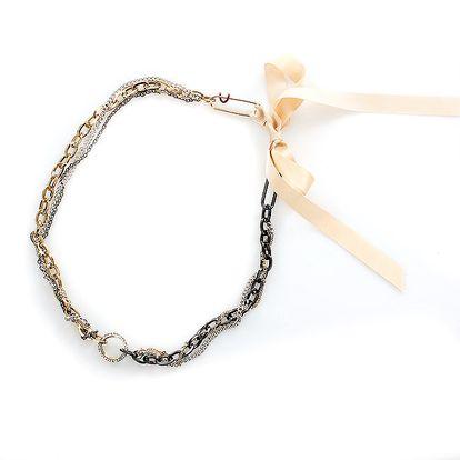 Dámský náhrdelník a mašličkou Max Mara
