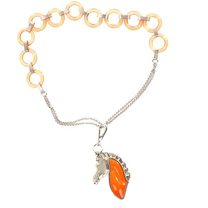 Dámský náhrdelník s koníkem Max Mara