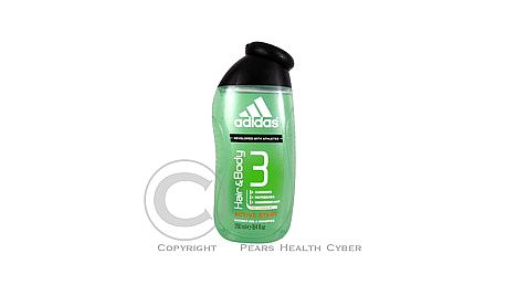 Sprchový a vlasový gel 2 v 1 Active Start ADIDAS A3 250 ml