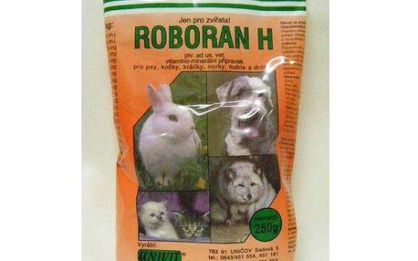 Roboran H. Vitamíny a minerály pro zlepšení kvality srsti Vašich mazlíčků, 250 g