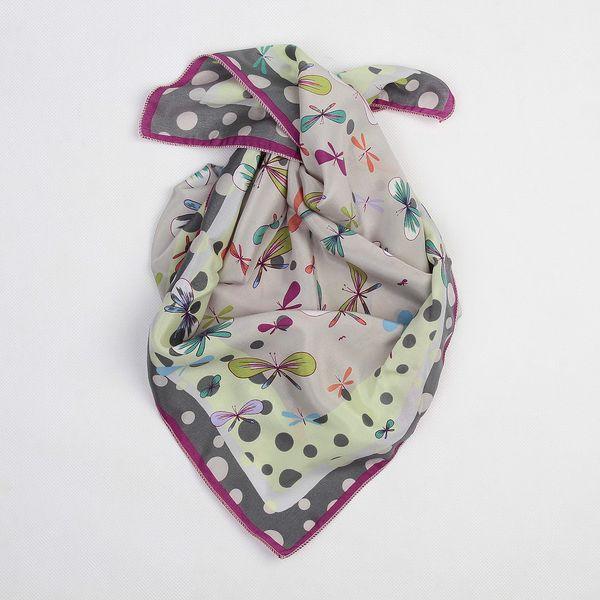 Hedvábný šátek Butterfly, Dots II